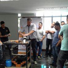 Treinamento para Mecânicos de Compactadores WeberMT