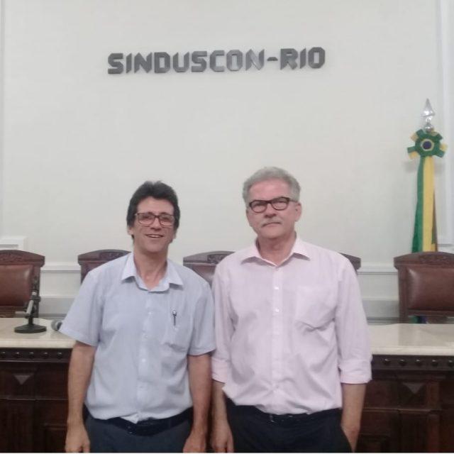 Visita ao Sinduscon-RJ